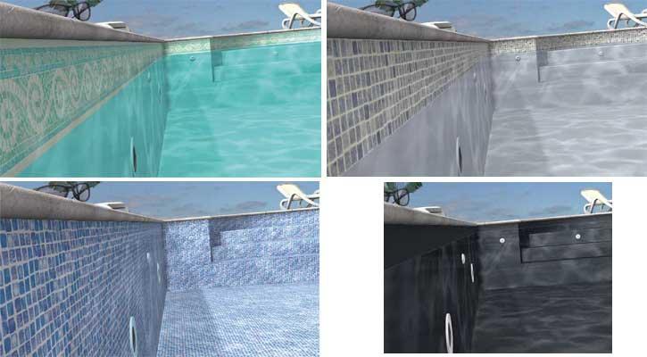Liner piscine rennes d coration et finition de la piscine for Liner piscine turquoise